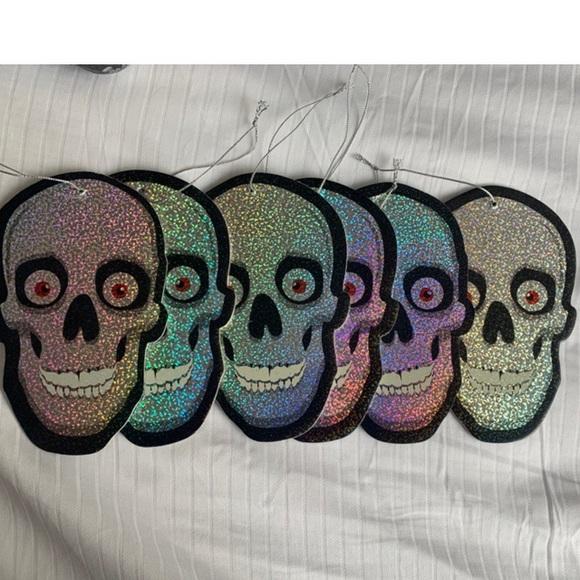 Other - HALLOWEEN Skull Hologram - 6pc